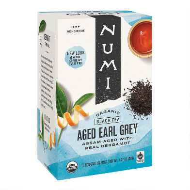 Numi Organic Aged Earl Grey Tea 18 Count