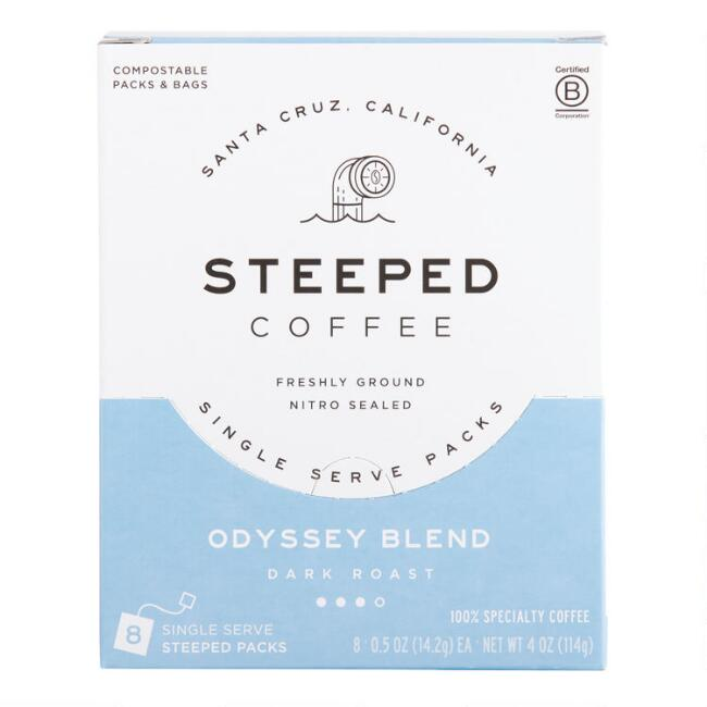 Steeped Odyssey Blend Single Serve Coffee 8 Count