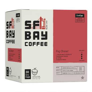SF Bay Fog Chaser Coffee Pods 30 Count