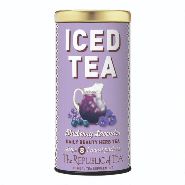 The Republic of Tea Blueberry Lavender Iced Tea 8 Count