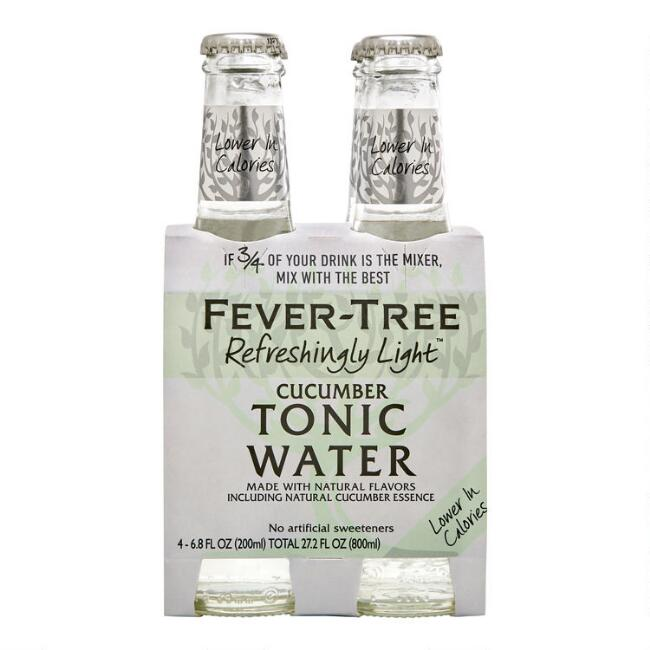 Fever Tree Light Cucumber Tonic Water 4 Pack
