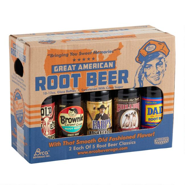 Great American Root Beer Variety 10 Pack