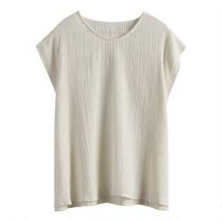 Ivory Textured Goa Lounge Top