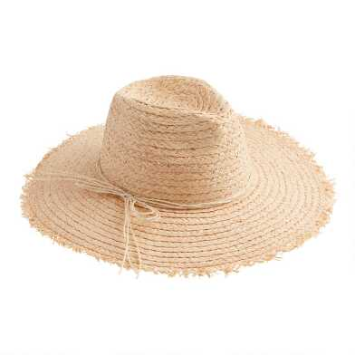 Natural Straw Rancher Hat With Double Bow Trim