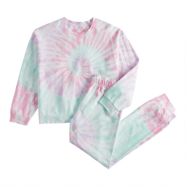 Multicolor Tie Dye Loungewear Collection