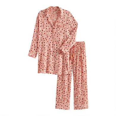 Pink and Red Cheetah Spot Pajama Collection