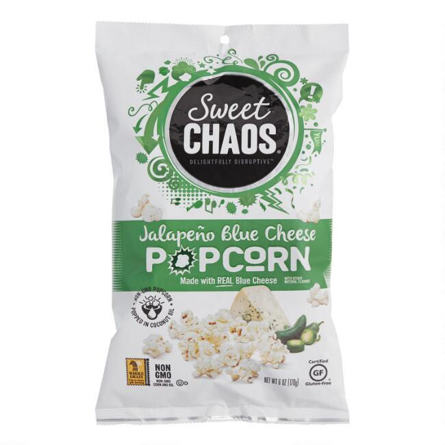 Sweet Chaos Jalapeno Blue Cheese Popcorn Set of 2