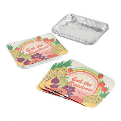 Picnic Casserole Bake Away Pans with Lids 4 Pack