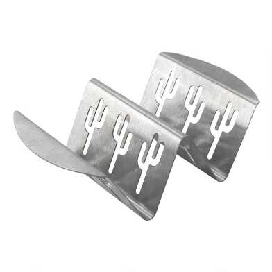 Nordic Ware Stainless Steel Taco or Rib Grilling Rack