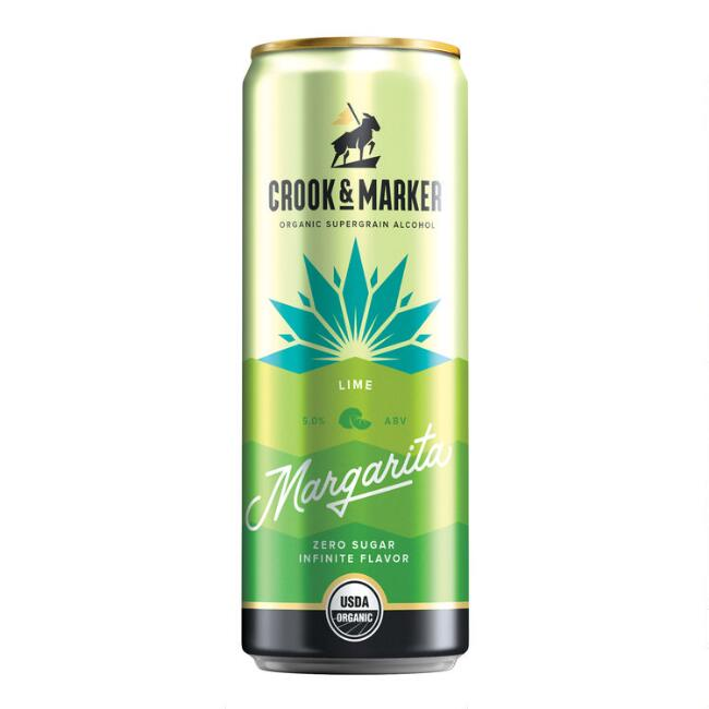Crook & Marker Lime Margarita Can
