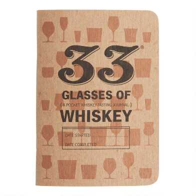 33 Glasses of Whiskey Tasting Journal