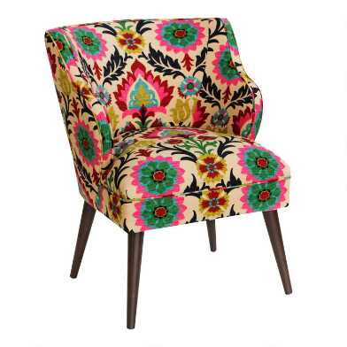Mid Century Audin Upholstered Chair