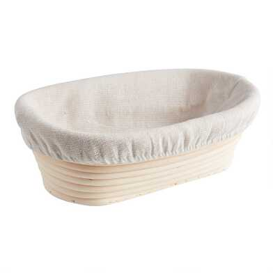 Oval Rattan Bread Proofing Basket