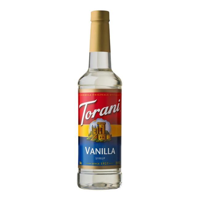 Torani Vanilla Syrup Set of 4