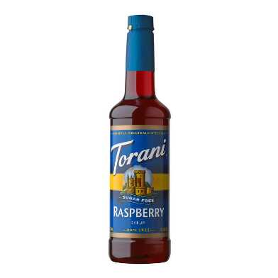 Torani Sugar Free Raspberry Syrup Set of 4