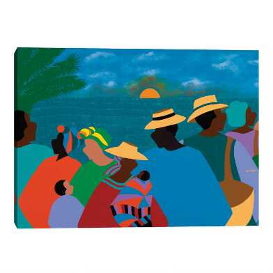 Summertime by Synthia SAINT JAMES Canvas Wall Art