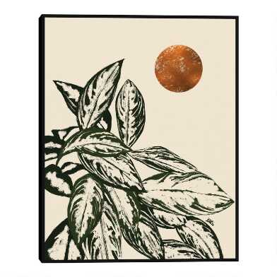 Calas II by Bria Nicole Framed Canvas Wall Art