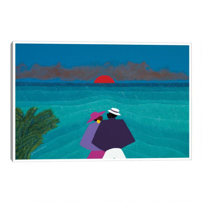 Turks and Caicos by Synthia SAINT JAMES Canvas Wall Art