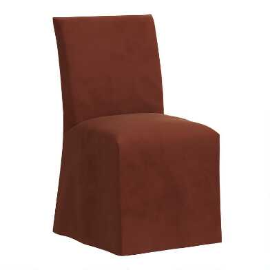Velvet Slipcover Landon Dining Chair