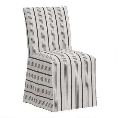 Print Slipcover Landon Dining Chair