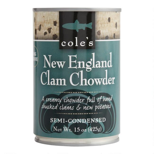 Cole's New England Clam Chowder