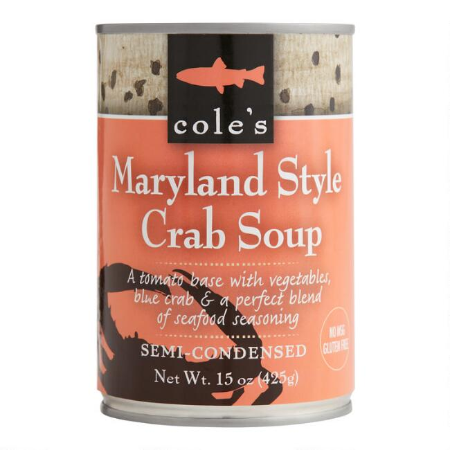 Cole's Maryland Style Crab Soup