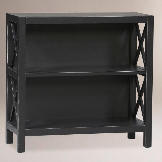 Easton Bookcase Antique Black World Market