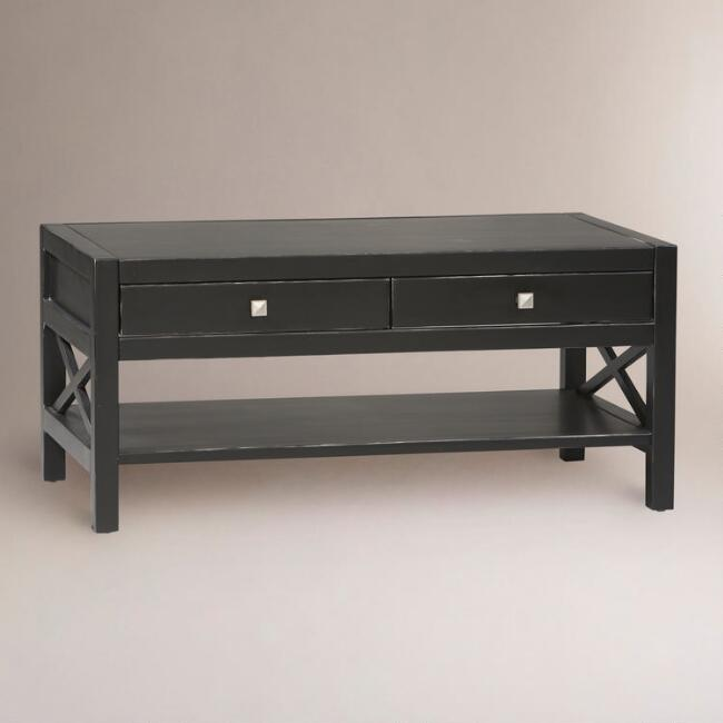 Antiqued Black Easton Coffee Table