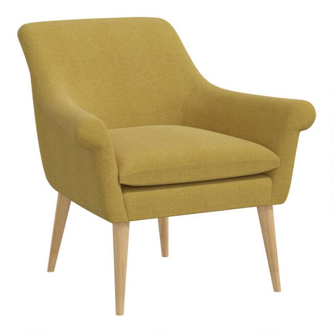 Linen Layla Upholstered Chair