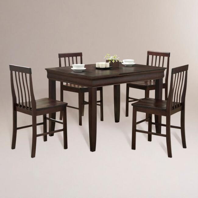 Espresso Preston 5-pc Dining Set
