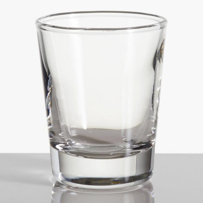 Glass Shot Glasses Set of 2