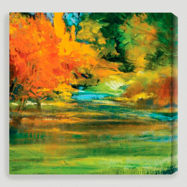 "World Market Lately: ""Late Summer's Expectation II"" By Sylvia Angeli"