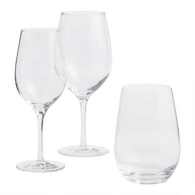 Connoisseur Crystal Glassware Collection