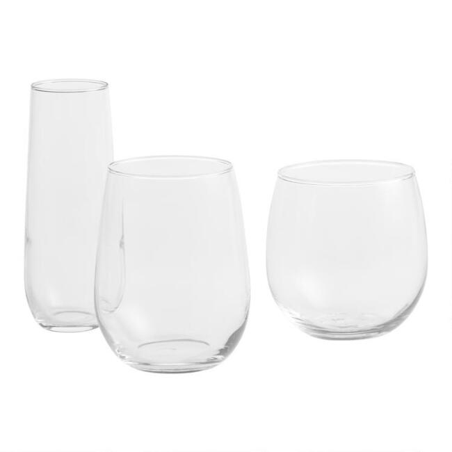 Stemless Glassware Collection