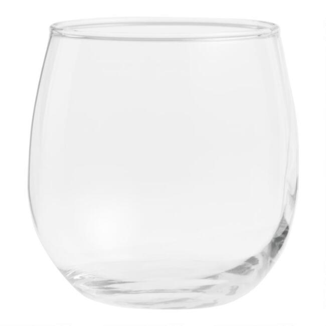 Stemless Red Wine Glasses Set of 4