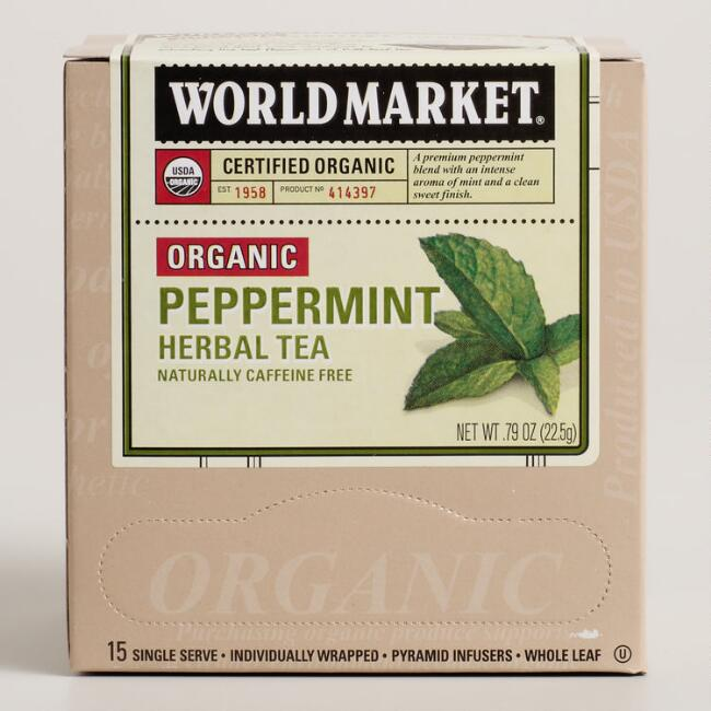 World Market® Organic Peppermint Herbal Tea