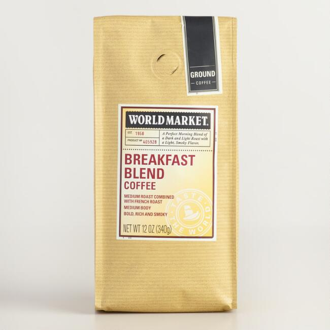 World Market® Breakfast Blend Coffee, 12 oz., Set of 6
