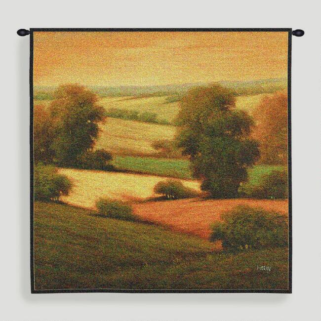 Amber Colors ll Tapestry Wall Hanging