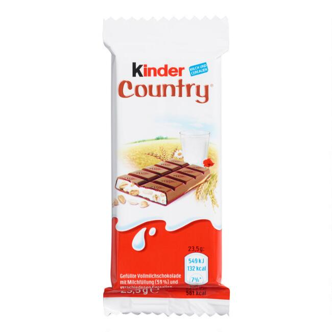 Kinder Country Milk and Cereal Chocolate Bar