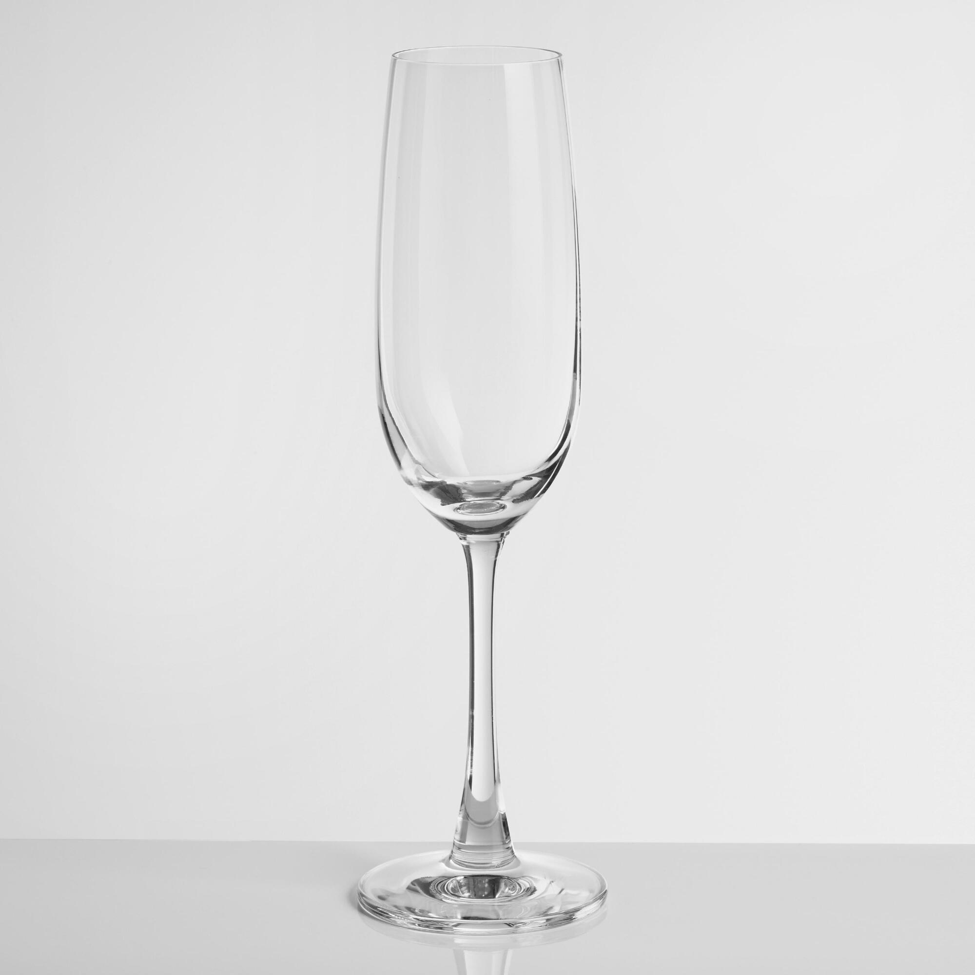 Event Champagne Flutes Set of 4 - Glass by World Market