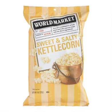 World Market? Sweet & Salty Kettle Corn Set of 12