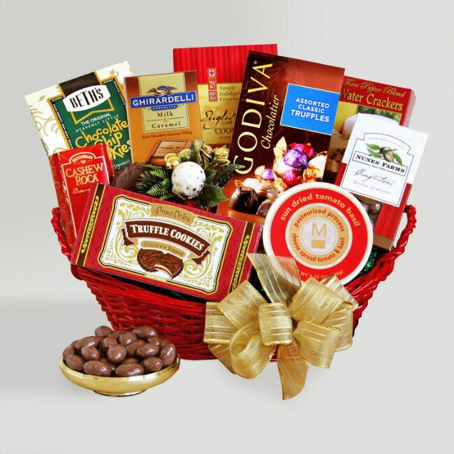 Sensational Season's Greetings! Gourmet Basket