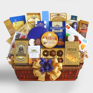 Gift baskets unique ideas online world market executive decision gift basket negle Choice Image