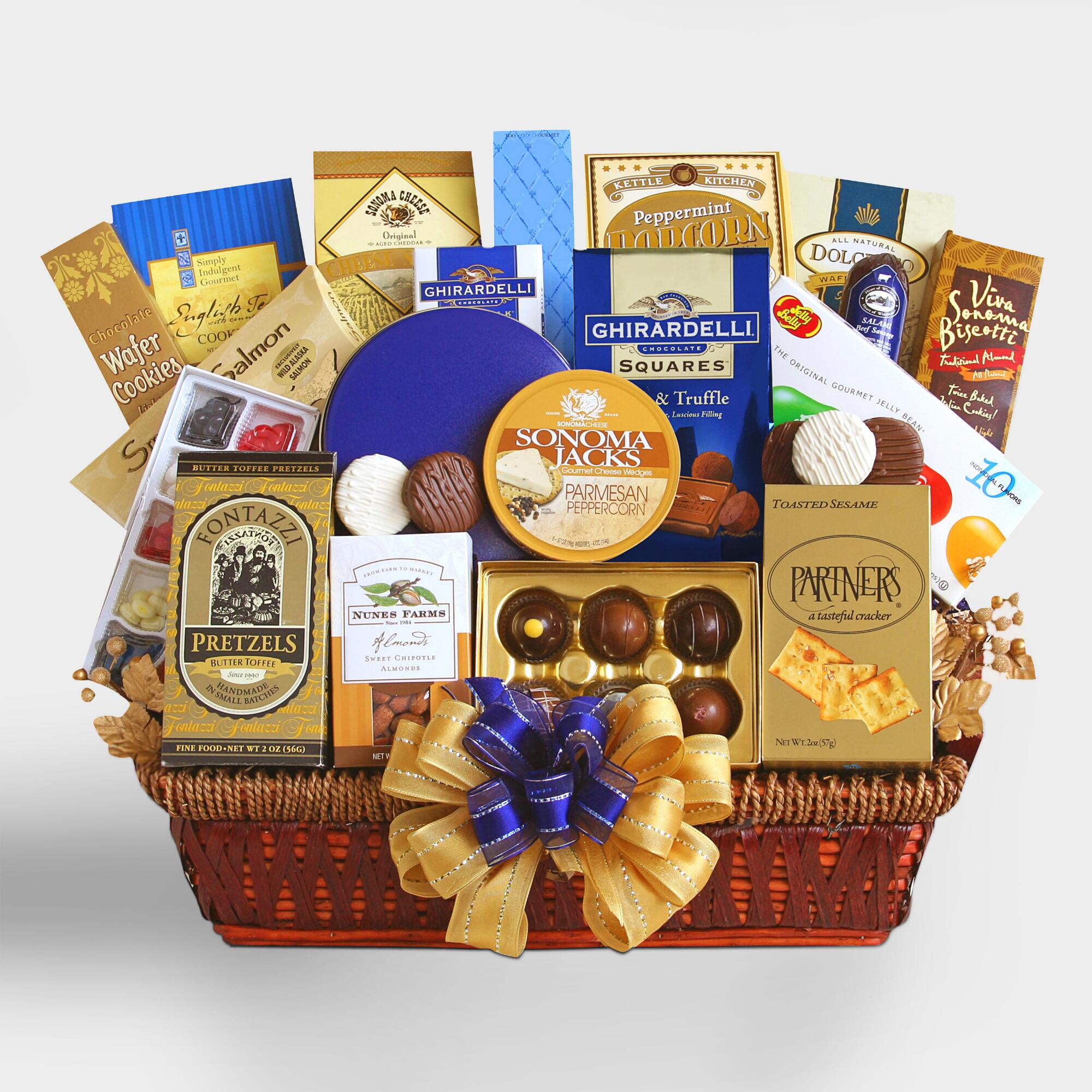 Executive Decision Gift Basket by World Market