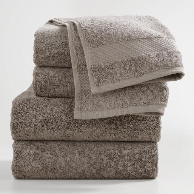 Frost Gray Bath Towel Collection