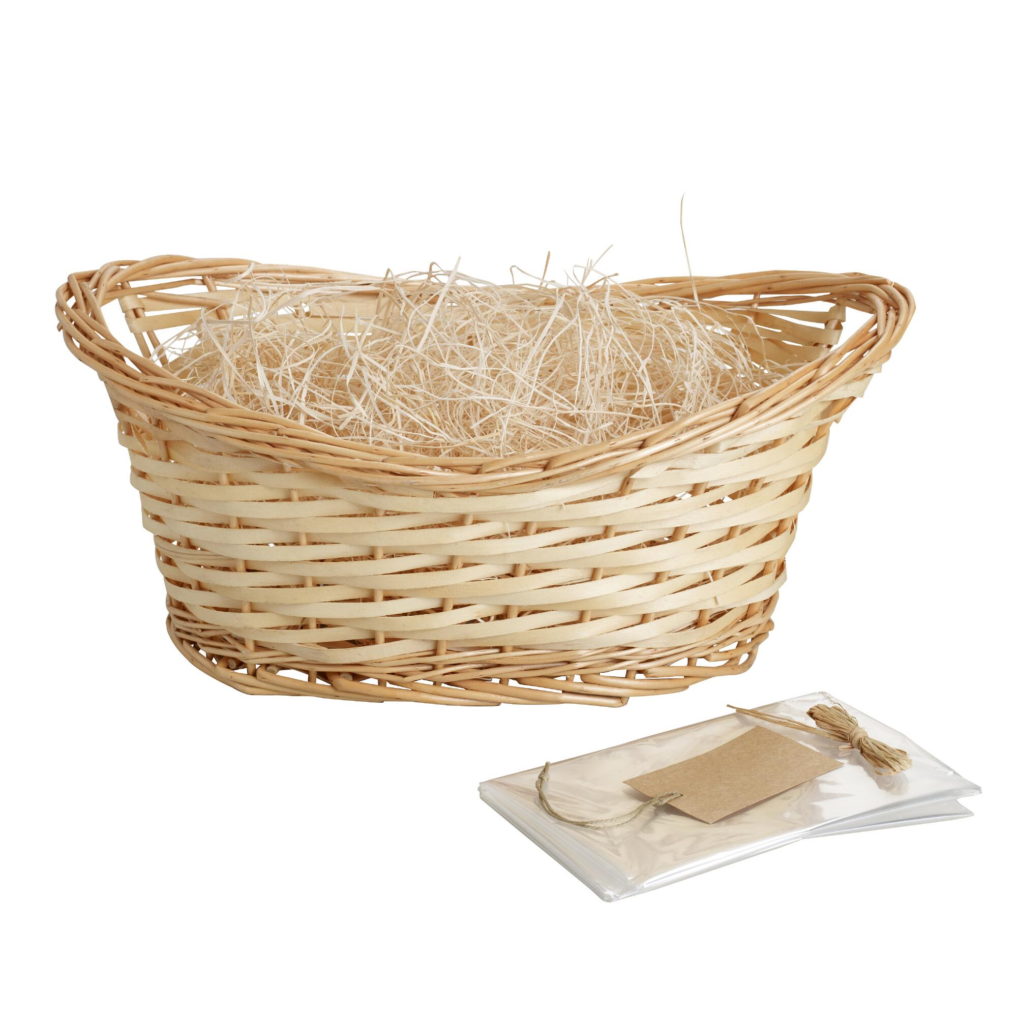 Natural Gift Basket Kit - Willow by World Market