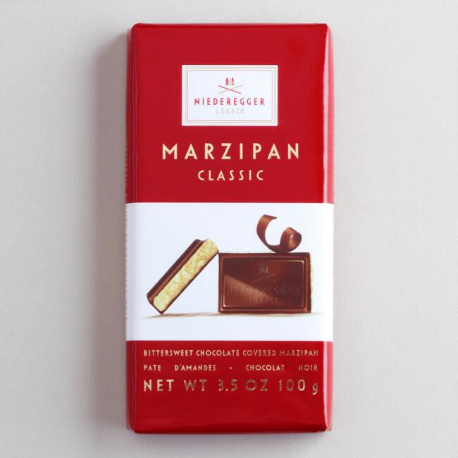 Niederegger Marzipan Classic Bar, Set of 6