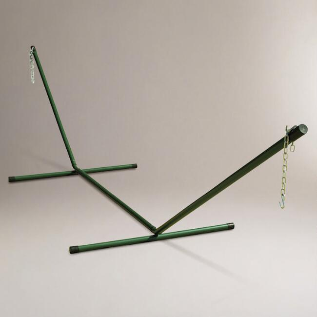 Hunter Green Hammock Stand