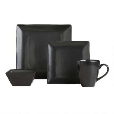 Black Trilogy Dinnerware Collection