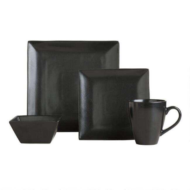 Black Trilogy Dinnerware